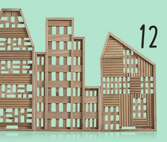 12. 3-piece row house set 103. reg 129.