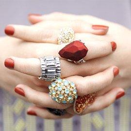 Bring the Bling: Women's Rings
