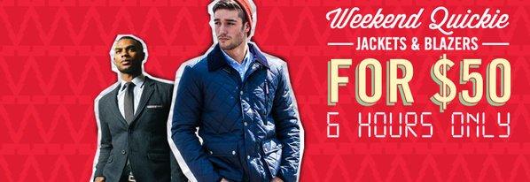 Shop $50 Jackets & Blazers