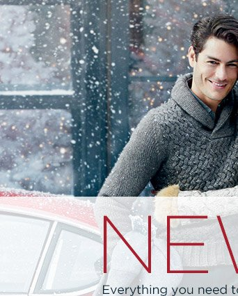 NEW IN   Everything you need to make the season bright.