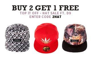 Top It Off: Ft. D9 Hats