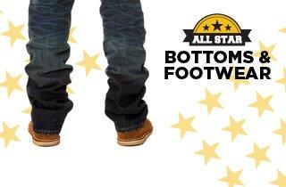 All Stars: Bottoms & Footwear