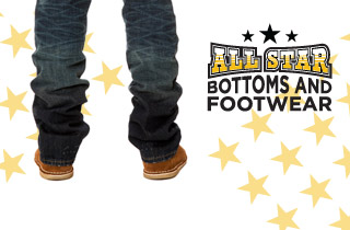 All Stars: Bottoms & Footwear