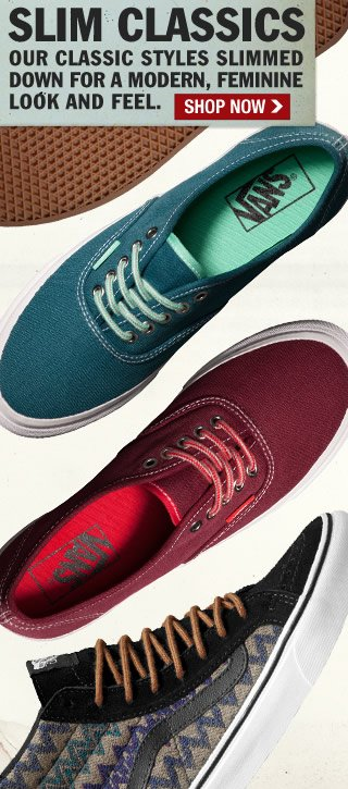 Shop New Colors and Prints in our Slim Classics Styles!