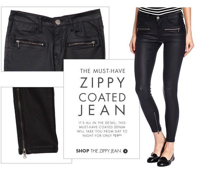 Shop the Zippy Jean