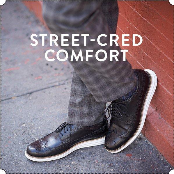 STREET-CRED COMFORT