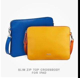 Slim Zip Top Crossbody for iPad - Shop Now
