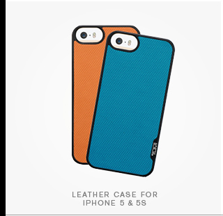 Leather Case for iPhone 5 & 5s - Shop Now
