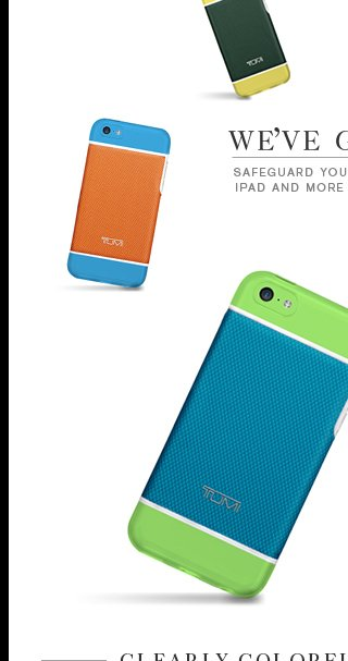 We've Got You Covered - Shop the New 5c Cases