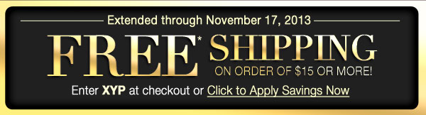 FREE* Shipping
