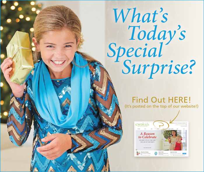 Take advantage of our surprise offer!