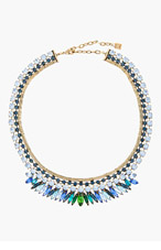 DANNIJO Blue Crystal Nathalia Necklace for women