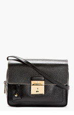 MARC JACOBS Black leather THE 1984 CAMERA BAG for women