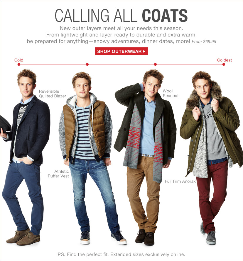 CALLING ALL COATS | SHOP OUTERWEAR