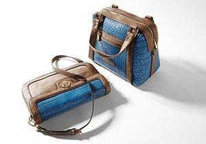 Exotic Texture: Croc-Embossed Bags