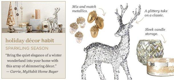 Holiday Décor Habit: Sparkling Season