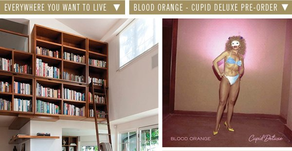 Everywhere you want to live | Blood Orange-Cupid Deluxe Pre-order