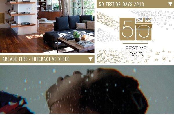 50 Festive Dyas | Arcade Fire-Interactive Video