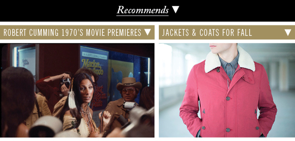Robert Cumming 1970's Movie Premieres | Jackets and Coats For Fall