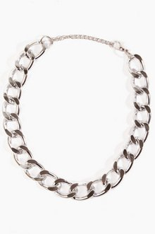 SINGLE CHAIN CURB NECKLACE 5