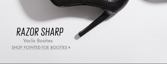 Shop Pointed-Toe Booties