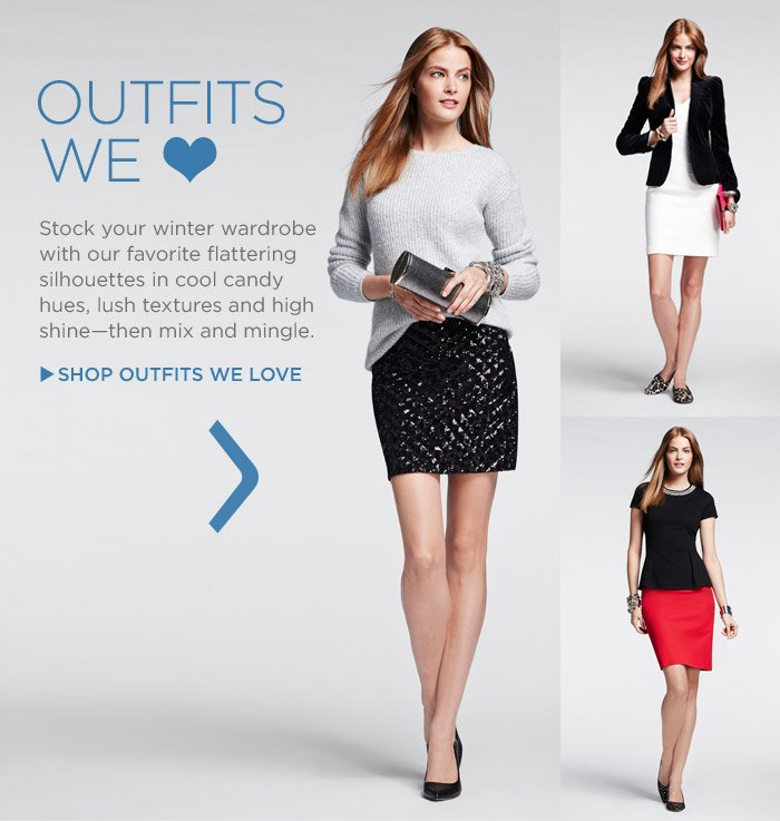 OUTFITS WE ♥ | SHOP OUTFITS WE LOVE