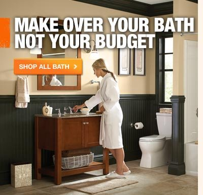 MAKE OVER YOUR BATH NOT YOUR BUDGET
