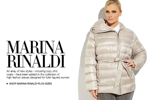 Marina Rinaldi Coats
