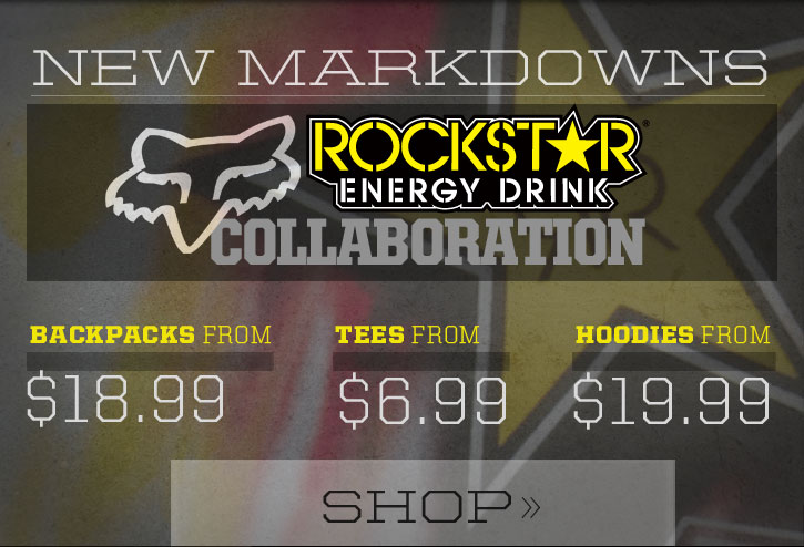 Rockstar x Fox Sale - Hoodies From $19.99