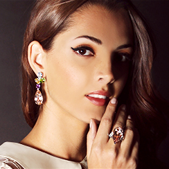 On Trend: Colorful Diamonds from $45