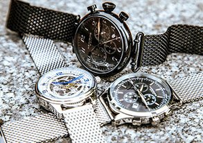 Shop The Trend ft Mesh Wristband Watches