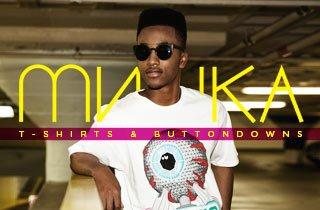 Mishka: T-Shirts and Buttondowns