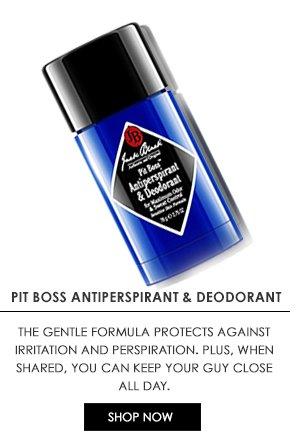 Pit Boss Antiperspirant & Deoderant