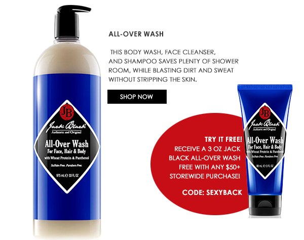 All-Over Wash + FREE GWP
