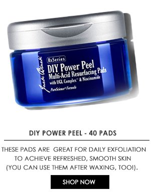 DIY Power Peel pads for daily exfoliation