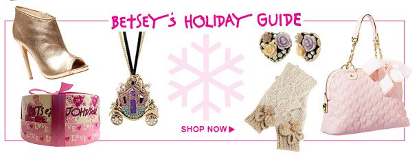 Shop Betsey's Holiday Guide