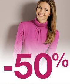Sélection à -50%