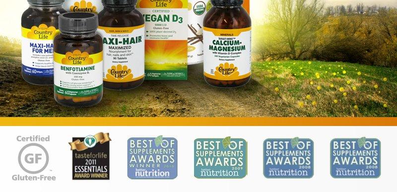 Award Winning Vitamins and Supplements
