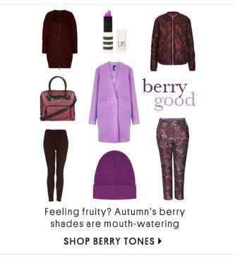 BERRY GOOD - SHOP BERRY TONES