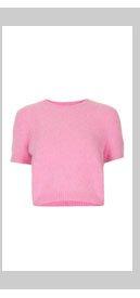 Knitted Fluffy Angora Jumper