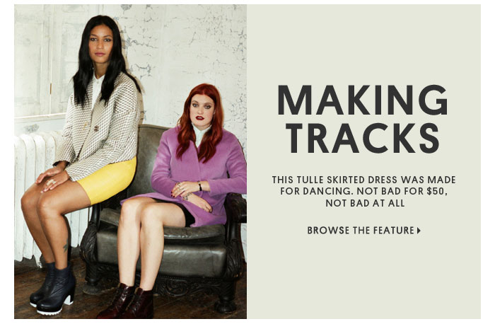 MAKING TRACKS - BROWSE THE FEATURE