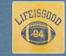 Men's LIG Football 94 Baseball Tee