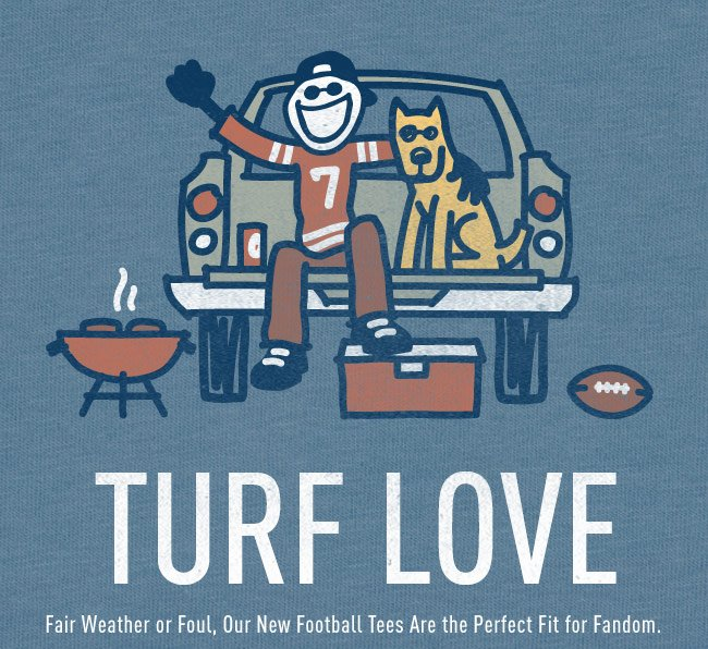 Shop the Life is good Football Collection