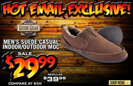 Men's Guide Gear® Casual Mocs