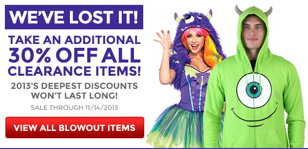 Take an Additional 30% Off All Clearance Items