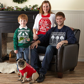 Ugly Sweater Style: Family Tees