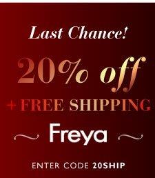 20% off Freya & Fantasie Lingerie