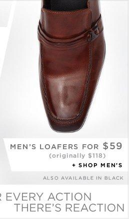 MEN'S LOAFFERS FOR $59 (originally $118) + SHOP MEN'S