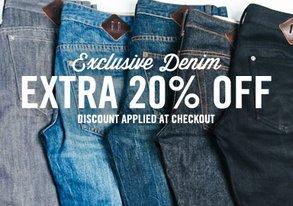 Shop Exclusive Denim: Extra 20% Off