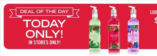 Luxury Hand Soap – $10